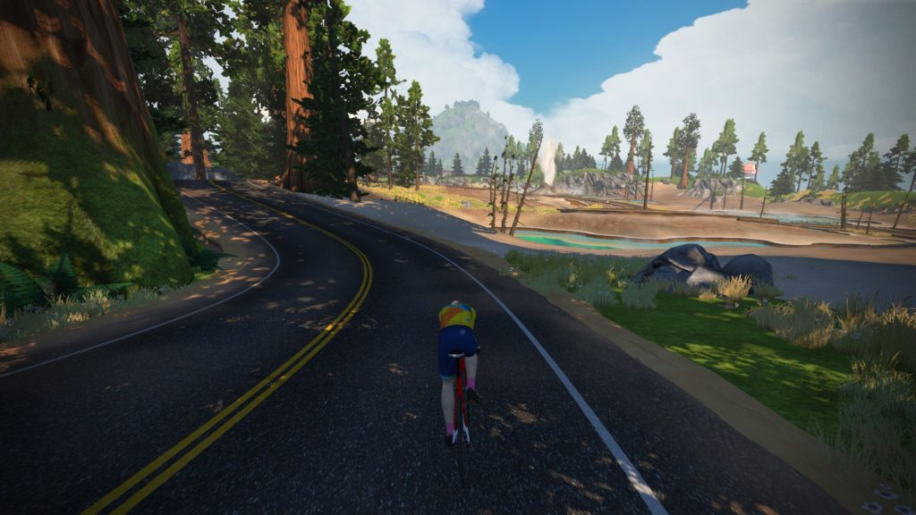 zwift titan's grove hot springs